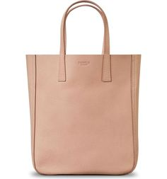 Swooning over this blush colored shopper that is deceptively spacious. / @nordstrom #nordstrom