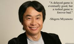 Today's Nintendo game designer and producer Shigeru Miyamoto's birthday, and to celebrate, we figured it was high time to take a look at some of his insights into the creative process.