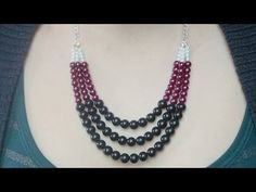 theDIYdiary: Do It Yourself: Statement Necklace - pinning for the pattern