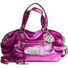 Coach Limited Edition Sequin Rocker Convertiable Satchel Bag Purse Bag Tote 16339 Sweetheart Coach, http://www.amazon.com/dp/B0058DCC1E/ref=cm_sw_r_pi_dp_EtqRqb1613VPW