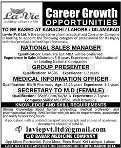 Manager Admin Assistant Manager It Jobs In Lahore  Places To