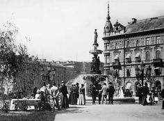 Sundsvall - My home town as it looked 1900.