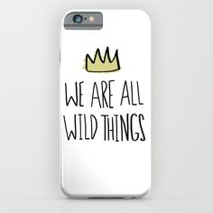 Wild Things iPhone & iPod Case
