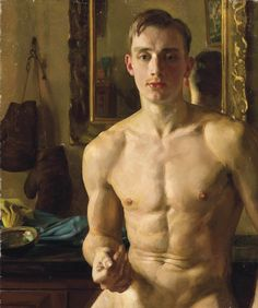 Konstantin Somov (Russian, 1869-1939), The Boxer, 1933