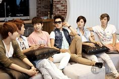 INFINITE ♡ Sunggyu, Dongwoo, Woohyun, Hoya, Sungyeol, L, and Sungjong -  WISH TRAVEL