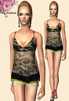Liana Sims 2 - Preview - Women's clothing - Casual -