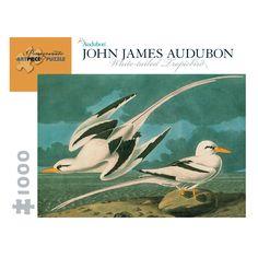 Pomegranate Communications, Inc. John James Audubon White-Tailed Tropicbird Puzzle: 1000 Pcs