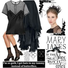Goth Mary Janes