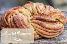 Estonian Kringel - Braided Cinnamon Bread Recipe on Cinnamon Swirl Bread, Cinnamon Rolls, Braided Bread, Cinnabon, English Food, English Desserts, Food 52, Sweet Bread, Bread Baking