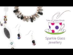 Get creative with pretty faceted beads and shining feature beads. Learn some essential techniques and design your own sparkling glass beaded jewellery. This ...