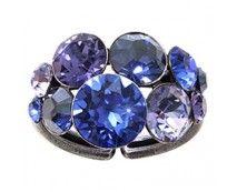 Konplott Petit Glamour Ring blau lila