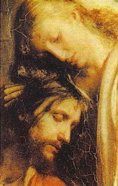 I love you Jesus forever Jesus Art, God Jesus, Religious Icons, Religious Art, Madonna, Marie Madeleine, Pictures Of Jesus Christ, Crucifixion Of Jesus, Biblical Art