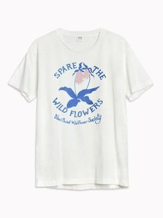 d655fc63b2d A vintage nature club tee inspired our Spare the Wildflowers Tee and speaks  to our passion