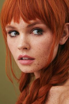 Redhead with freckles I Love Redheads, Redheads Freckles, Freckles Girl, Hottest Redheads, Beautiful Freckles, Stunning Redhead, Red Hair Woman, Woman Face, Freckle Face