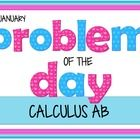 This is a collection of 20 problems that I use as problems of the day.  All 20 of these problems review topics that are traditionally taught in the...