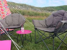 CAMPING   Vango Apollo Oversized Camp Chairs – The Best Value, Comfiest Camp Chairs We've Ever Used!