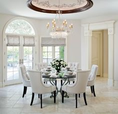 Westlake Village - French Provincial traditional dining room