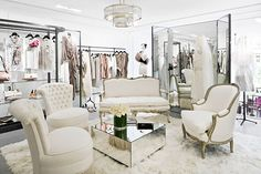 Boutique interior design inspiration.