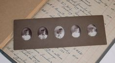 RARE FIND  Antique Victorian 5 Poses Photograph by vintagenonsense, $18.00