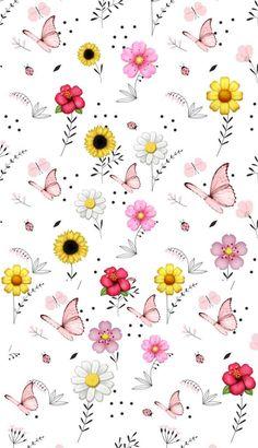 15 Lindos fondos de pantalla para darle color a tu móvil – fondo pantalla – Primavera Flower Background Wallpaper, Flower Phone Wallpaper, Butterfly Wallpaper, Pastel Wallpaper, Cute Wallpaper Backgrounds, Pretty Wallpapers, Tumblr Wallpaper, Flower Backgrounds, Screen Wallpaper
