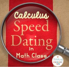 http://teachinghighschoolmath.blogspot.com/2016/04/we-speed-dated-in-calculus-today.html