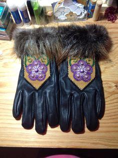 Beaded Gloves by Alaska Beadwork