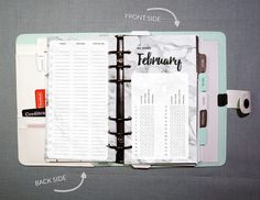 FREE PRINTABLE INSERTS  After all the stuff I ordered last month I decided to challenge myself to a no spend February!  I've created some planner inserts in watercolor, plain and marble design FOR FREE on my website mocowords.nl or #linkinbio  Sooo, who's with me this February?! .  #free #nospend #february #printable