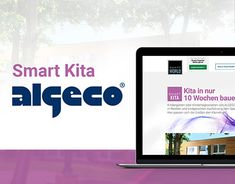 """Check out new work on my @Behance portfolio: """"ALGECO – Smart Kita Microsite"""" http://be.net/gallery/60504125/ALGECO-Smart-Kita-Microsite"""