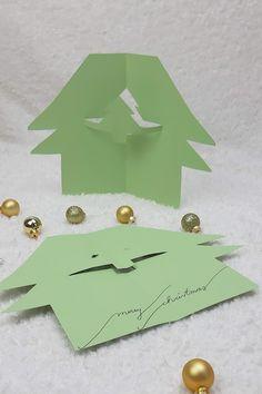 Weihnachtskarten selber basteln in wenigen Minuten Diy Weihnachten, Santa Clause, Stencils, Advent Calenders, Bricolage