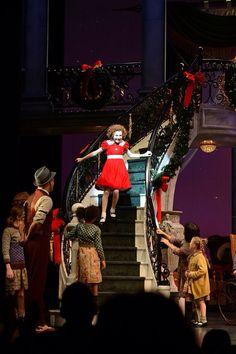 Annie opening night