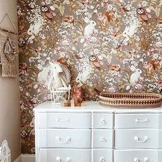 My Owl Barn: Stunning Wallpaper by Jimmy Cricket