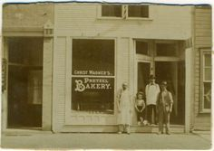 A very old photo of the Christ Wagner Pretzel Bakery, which once operated at 135 E. Third Street in Greenville, Ohio. Click to read more about this nearly forgotten business.