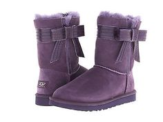 Genuine Ugg Australia Women's Josette Purple Velvet 1003174 Classic Fashion Boot