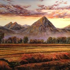 """""""The Lone Volcano"""", Sutter Buttes in California's Great Valley."""