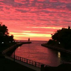 Amazing sunset...Charlevoix, MI Charlevoix Michigan, Amazing Sunsets, Summer Time, Spaces, Awesome, Outdoor, Outdoors, Daylight Savings Time, Be Awesome