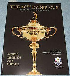 2014 Ryder Cup Memorabilia Runs the Gamut