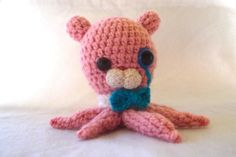 Octonaut Professor Inkling Octopus crocheted by by LittleMothers, $45.00