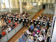 Orimattilan kirkko (kuoro: Cantores Minores)