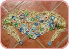 Halstuch in hellgelb aus Baumwolle