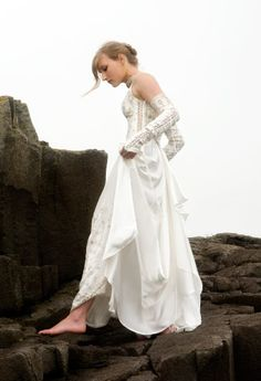 Designer Custom Wedding Gowns and Dresses | Fashion, Designer, Custom, Couture | Katherine Feiel Wedding Gowns | Moonseed