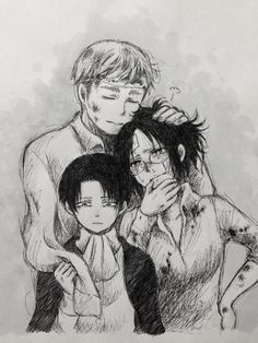 Erwin Smith x Rivaille (Levi) x Zoe Hanji