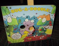 BUG-A-DOODLE! BOARD BOOK BY MATT MITTER, GREAT READ, GUC