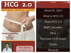 Get the FREE HCG 2.0 Mobile App to Accompany Your HCG Diet