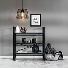Sleek sophisticated and stylish the Quart 3 tier bookshelf is the perfect storage solution! #storage #office #organised #style #modern