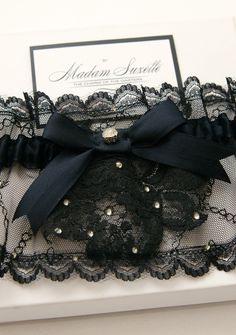 Garter by Madam Suzette/ www.madamsuzette.com / shop@madamsuzette.com