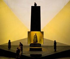 Scene from Tristan and Isolde at the Metropolitan Opera House, New York, 2008 - Opera