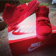 """Nike Air Yeezy 2 """"Red October"""" (New Images)"""