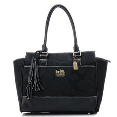 Cheap And Fashion Coach Legacy Candace Medium Black Satchels AZF Are Here!
