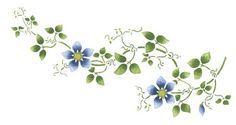 clematis flower tattoo | flowers tattoo tattoo flowers large clematis flowers vines side tattoo ...