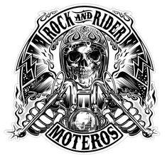 motorcycle art Logo designs 2016 on Behance Motorcycle Logo, Motorcycle Posters, Motorcycle Clubs, Skull Logo, Skull Art, Dessin Old School, Logo Online, Online Tshirt Design, Harley Davidson Art